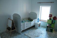 Cement tiles Bedroom - Azule 09 Olive - Project van Designtegels.nl