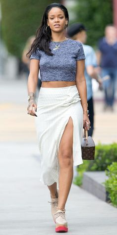 Look of the Day - January 27, 2015 - Rihanna from #InStyle