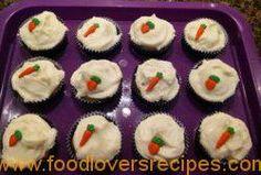 wortelkoek cupcakes Elrein