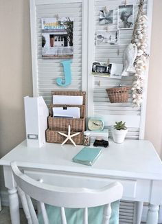 small space office craft rooms home decor home office urban living small space office Small Space Office, Small Spaces, Office Spaces, Small Workspace, Office Workspace, Work Spaces, Modern Spaces, Home Office Design, House Design