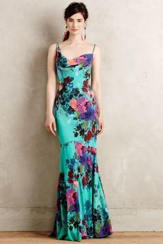 Nicole Miller Botanical Gardens Gown #anthrofave