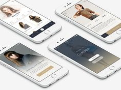 La Moda is iOS fashion app template dedicated for fashion ecommerce.  Now, La Moda is available in Graphicriver! See the whole screens here http://graphicriver.net/item/lamoda-fashion-app-ui/15595128?ref=peterdraw Thank you! :)