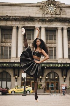 Nardia Boodoo from the Washington Ballet