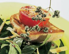 Tomaten-Toast auf Salat - Rezeptdatenbank - Swissmilk