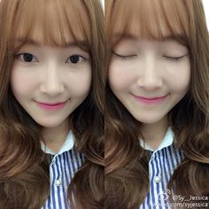 "Jessica's Weibo: ""Just a slight change :)"" #SNSD"