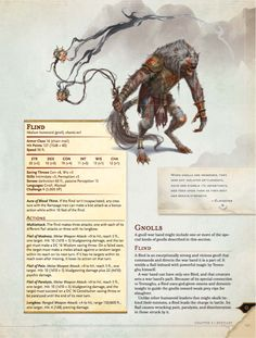 An Early Look At D&D's Newest Monster Bible demon beast knoll evil pact stats homebrew