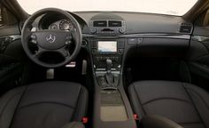 Focus of the project: Take an E320 CDI (Iridium Silver/Black interior) and dress it up like a 2007 - 2009 Mercedes AMG E63.