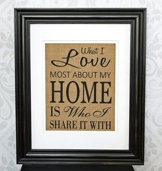 Hey, I found this really awesome Etsy listing at https://www.etsy.com/listing/129778457/burlap-wall-decor-housewarming-gift-what