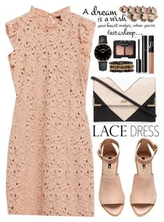 """Lovely Lace Dresses"" by saramsilva ❤ liked on Polyvore featuring moda, Lipsy, Zara, H&M, CLUSE, Ashley Pittman, Chanel, NARS Cosmetics y Diane James"