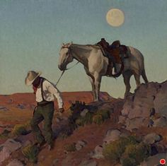 Down from the Mesa by Glenn Dean Oil ~ 32 x 32 Painting Inspiration, Art Inspo, Cowboy Art, Southwest Art, Traditional Paintings, Western Art, Horse Art, Magazine Art, Landscape Paintings