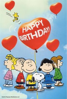 Happy Birthday Snoopy Images, Happy Birthday Charlie Brown, Peanuts Happy Birthday, Happy Birthday Art, Birthday Wishes For Kids, Happy Birthday Wallpaper, Happy Birthday Wishes Cards, Happy Birthday Pictures, Birthday Quotes