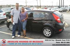 #HappyAnniversary to Gary Allen on your 2013 #Hyundai #Accent from Elijah Riess at Absolute Hyundai!