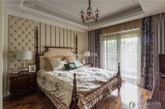 Luxury European style bedroom bedroom decoration 2015