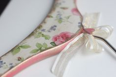 Decoupaged+wooden+lady+hanger+wedding+dress+hanger+by+Diumont,+$15.00