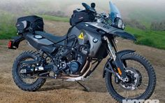 Bmw F800gs Right Side View