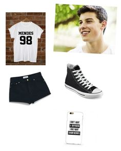 """""""Shawn Mendes concert"""" by soccer1313 ❤ liked on Polyvore featuring Episode, MANGO and Converse"""