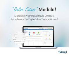 #Ticimax online #fatura modülü ile E-ticaret sitenizde yaptığınız satışların faturalarını tek tuşla bastırın! Ayrıca kestiğiniz faturaların tüm dökümlerini excel ile alın!  Detaylı Bilgi ; www.ticimax.com  #eticaret #sanalmağaza #eticaretsitesi #onlinesatış #ecommerce #mobilticaret #satışsitesi #ticimax