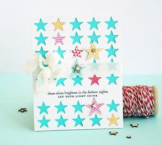 Let Your Light Shine card by Dani at @Studio_Calico