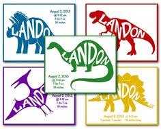 Dinosaur Bedroom Printables