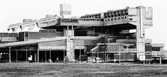 Cumbernauld Town Centre, Geoffrey Copcutt, 1955