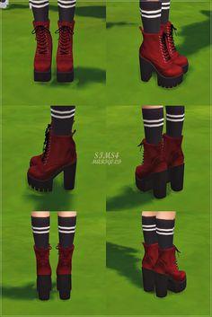 Marigold : Chunky Combat Boots