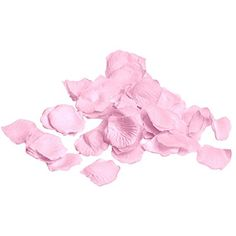 Pink Silk Flower Artificial Rose petals for Wedding Aisle, Party Favor & Table, Vase, Home Decoration by Royal Imports, 1000 PCS