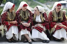 Macedonia women during the Galichnik Wedding Festival http://www.feelthebalkans.com/galichnik-wedding.html