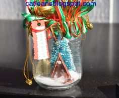 Fearlessly Creative Mammas: Christmas Trees in a Jar - Guest Post Swap