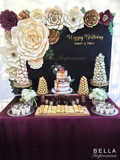 17 pcs – PAPER FLOWER BACKDROP – All flowers in image – dessert table flowers – home decor – baby room decoration – Kardashian baby shower - Ideas Flowers Birthday Decorations, Wedding Decorations, Table Decorations, Quinceanera Decorations, Adult Party Decorations, Fiesta Decorations, Birthday Backdrop, Graduation Decorations, Birthday Balloons