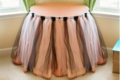How to Make a Tulle Highchair Skirt (6 Steps) | eHow