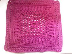 BLOCK 17    Ravelry: Winter Rose 12in Sampler Square pattern by Julee Reeves