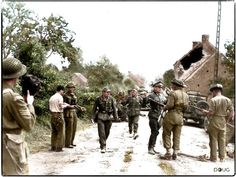 WW2 Colourised Images 2 - Imgur