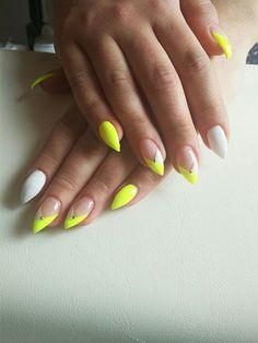 #nails #stiletto