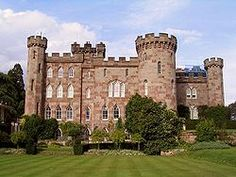 Cholmondeley Castle, Cholmondeley, Cheshire, England - UK Built between 1801/1804 by George Cholmondeley, 1st Marquess of Cholmondeley