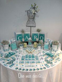Pretty dessert table #desserttable