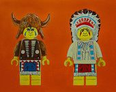 LEGO My Land - 24x18 Signed & Numbered Print. This is from former Lawrence, Kansas resident Steven Judd. Very talented!