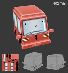 LOWPOLY (sub 1000~ triangle models) - Page 421 - Polycount Forum