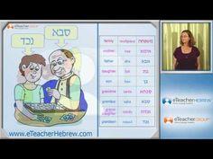 Learn Hebrew - lesson 19 - Family | by eTeacherHebrew.com - YouTube