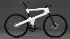 MOKUMONO - The bike that revives Dutch bicycle manufacturing. Made out of pressed aluminum, has a belt drive & internal cabling.