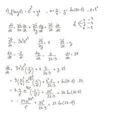Ejercicio 6 resuelto. Tema: regla de la cadena funciones de varias ...