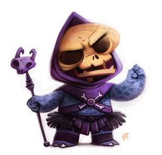 Day 550. Skeletor by Cryptid-Creations.deviantart.com on @deviantART★ Find more at http://www.pinterest.com/competing/