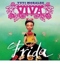 Viva Frida                Frida Kahlo, one of the world's most famous and unusual artists is revered around the world. Her life was filled with laughter, love, and tragedy, all of which influenced what she painted on her canvases. Book recommended for ages 4-9  Read our interview with author Yuyi Morales >> http://blog.firstbook.org/2014/10/14/yuyi-morales/#sthash.QjOMtx4S.dpuf