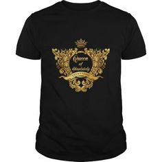 Queen of Absolutely Everything Gold Baroque shirt LIMITED TIME ONLY. ORDER NOW if you like, Item Not Sold Anywhere Else. Amazing for you or gift for your family members and your friends. Absolutely Everything, Gold T Shirts, Neon Green, Custom Shirts, Custom Made, Tees, Tee Shirts, Shirt Designs, Baroque