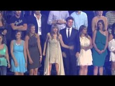 Tay-tay is the most committed audience dancer ever. Watch and learn. | The 25 Best Taylor Swift Audience-Dancing Moments Of All Time