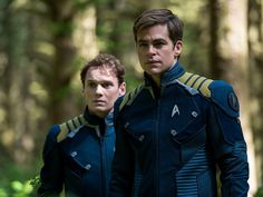 Star Trek Beyond - Chekov and Kirk. RIP Anton Yelchin. 1989-2016