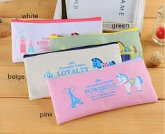 cartoon letters pen bag baby shower favors souvenirs kids birthday party supply