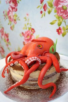 Octopus cake by Mrs. Cloe