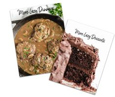 The Lazy Cooking Bundle - 50% Off Beef Recipes For Dinner, Best Dessert Recipes, Sweet Desserts, Easy Eat, Easy Food To Make, Easy Casserole Recipes, Beef Casserole, Custard Recipes, Pie Recipes