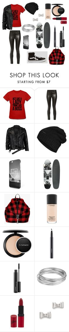 """Untitled #317"" by aly-1234 ❤ liked on Polyvore featuring J Brand, Vans, VIPARO, The North Face, Boohoo, MAC Cosmetics, Worthington, Rimmel and Marc by Marc Jacobs"