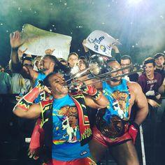 #WWERome thinks #NewDayRocks! @wwebige @xavierwoodsphd #KofiKingston #WWE
